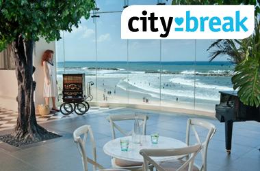 ליהנות בחופשה מפנקת במיקום מושלם בהרודס תל אביב!  ב-40% הנחה !
