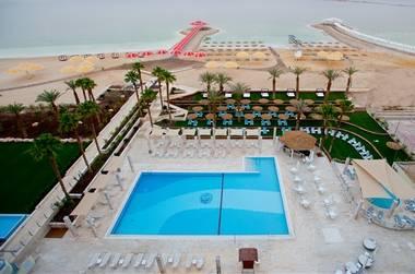 מבט מלמעלה על מלון הרודס ים המלח